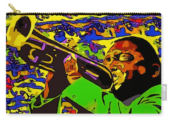 Wynton Marsalis Plays Louis Armstrong Rework Carry-all Pouch