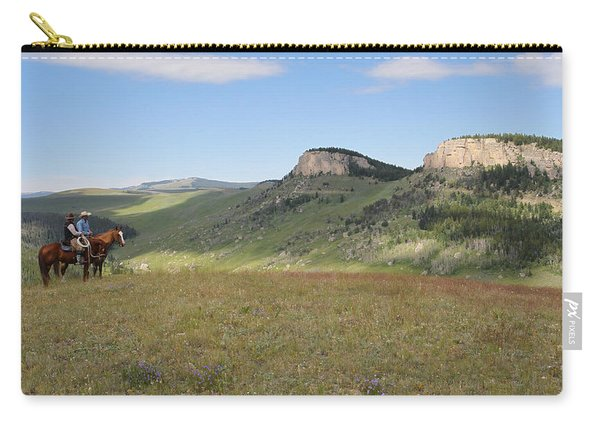 Wyoming Bluffs Carry-all Pouch