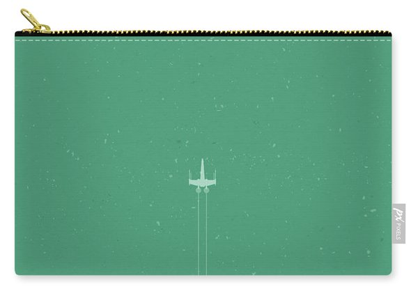 X-wing Meets Death Star Carry-all Pouch