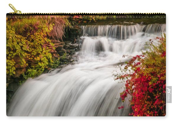 Fall At Minnehaha Falls Carry-all Pouch