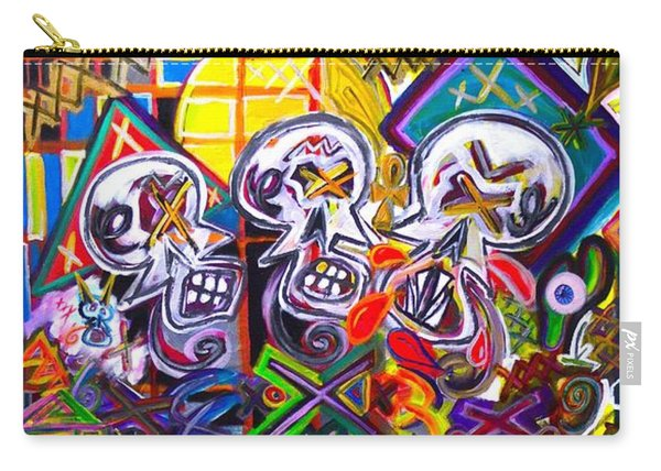 Xxxkull The Xxxiamese Twins  Carry-all Pouch