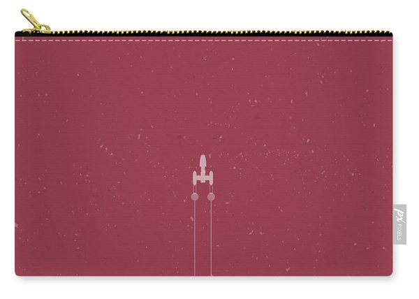 Y-wing Bomber Meets Death Star Carry-all Pouch
