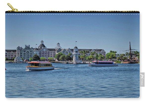Yacht And Beach Club Walt Disney World Pm Carry-all Pouch
