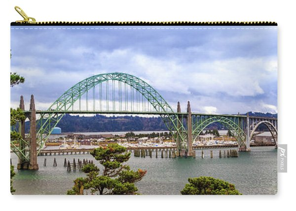 Yaquina Bay Bridge Panorama Carry-all Pouch