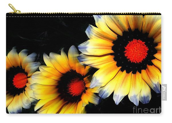 Yard Flowers Carry-all Pouch