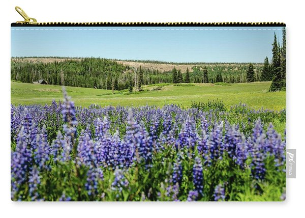 Yard Full Of Wildflowers Carry-all Pouch
