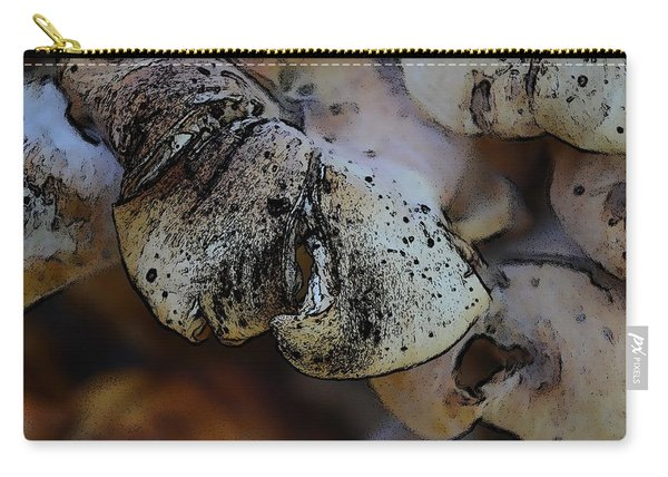 Yard Mushrooms Carry-all Pouch