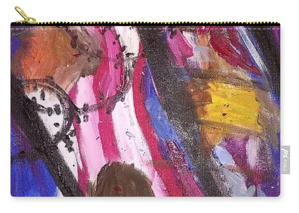 Carry-all Pouch featuring the painting Yearning To Be Free by Kevin Daly