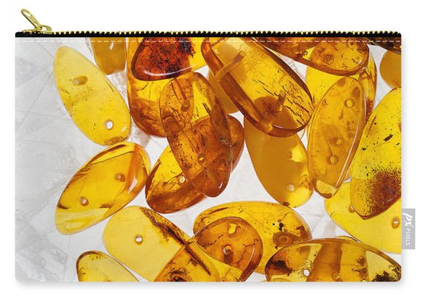 Yellow Amber Stones  Carry-all Pouch