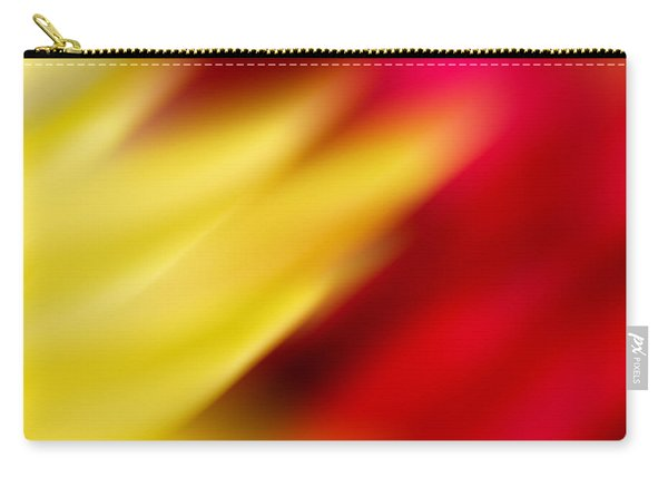 Yellow And Red Carry-all Pouch