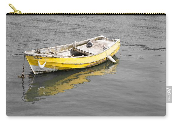 Yellow Boat Carry-all Pouch