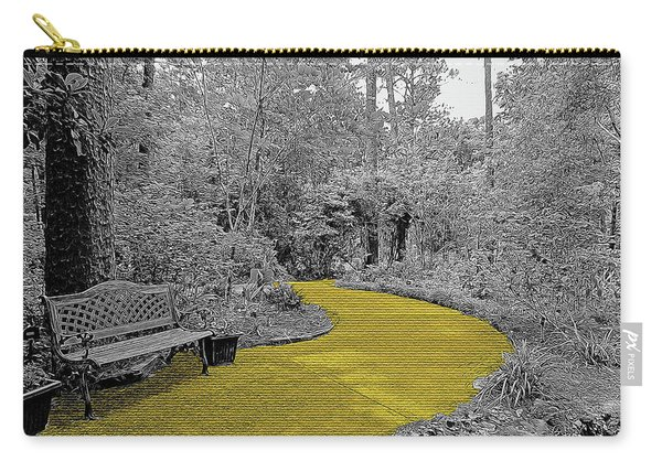 Yellow Brick Gardens Walkway Carry-all Pouch