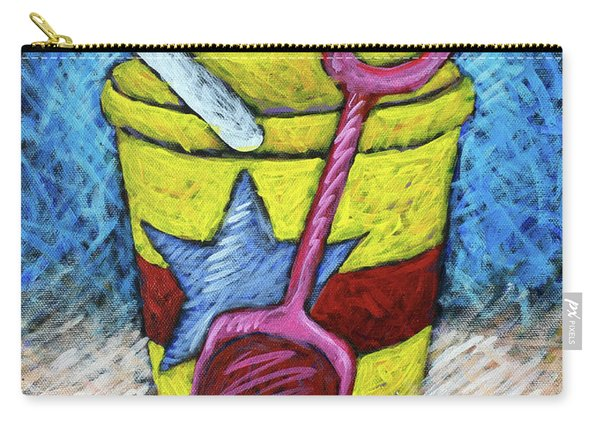 Yellow Bucket Carry-all Pouch