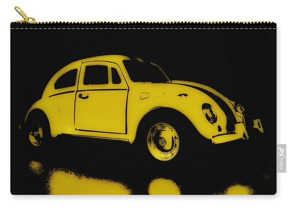 Yellow Bug Carry-all Pouch