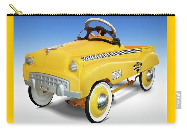 Yellow Cab Peddle Car Carry-all Pouch