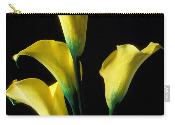 Yellow Calla Lilies  Carry-all Pouch