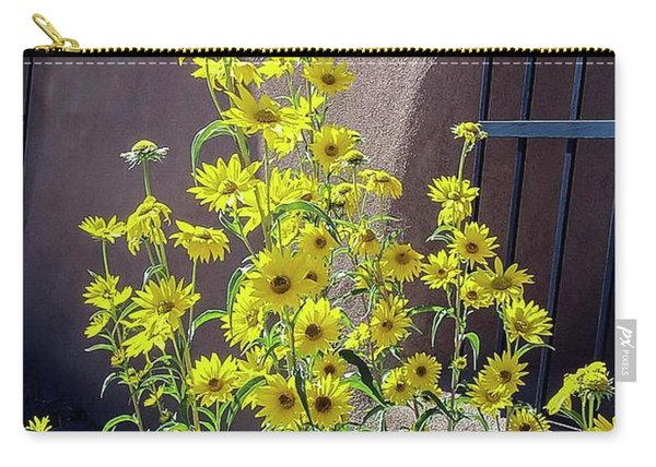 Yellow Composites At Ghost Ranch  Carry-all Pouch