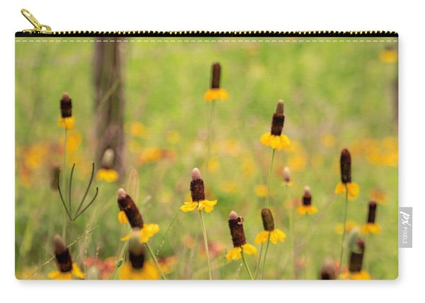 Yellow Cone Flower Carry-all Pouch