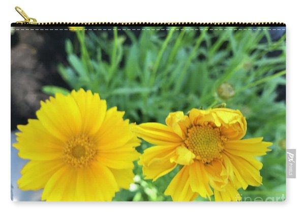 Yellow Coreopis Carry-all Pouch