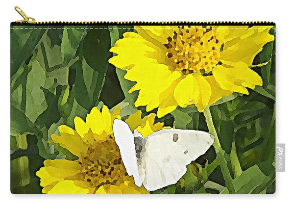 Yellow Cow Pen Daisies Carry-all Pouch