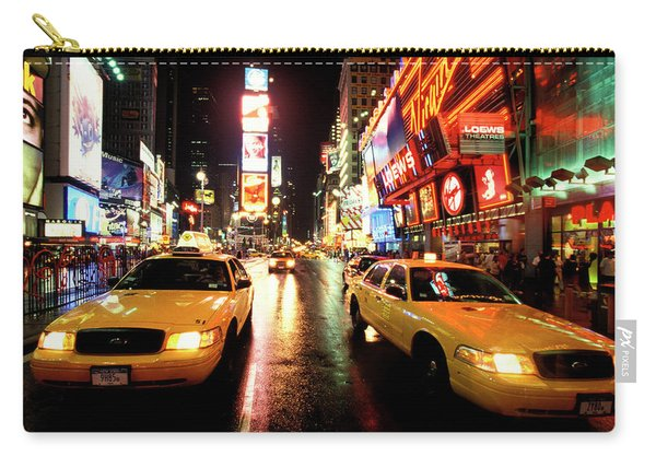 Yellow Crown Cabs Carry-all Pouch