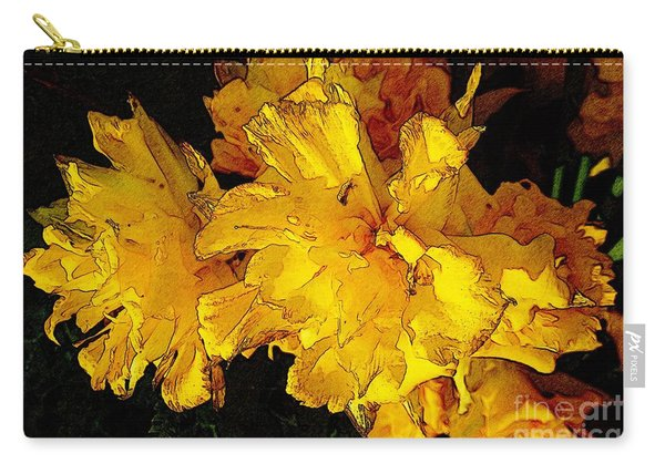 Yellow Daffodils 4 Carry-all Pouch