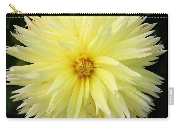 Yellow Dahlia Carry-all Pouch