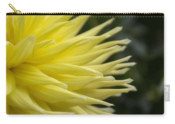 Yellow Dahlia Petals Carry-all Pouch
