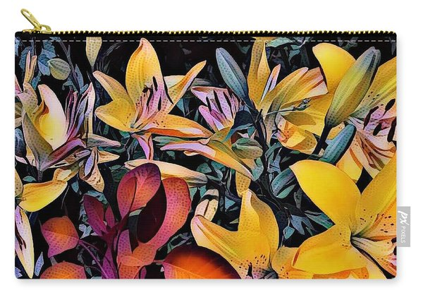 Yellow Daylilies Carry-all Pouch