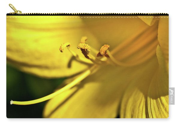 Yellow Daylily Carry-all Pouch