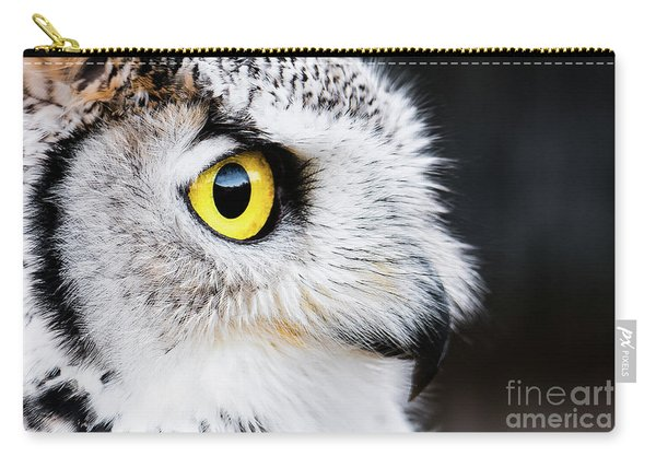Yellow Eye Carry-all Pouch