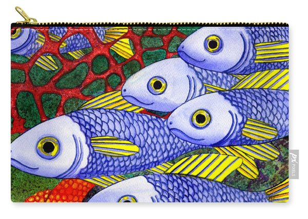 Yellow Fins Carry-all Pouch