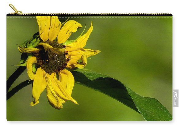 Yellow Flower 1 Carry-all Pouch