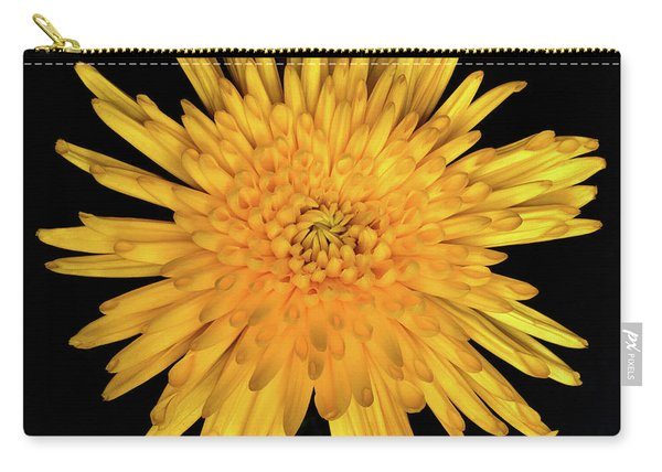 Yellow Flower Macro Carry-all Pouch