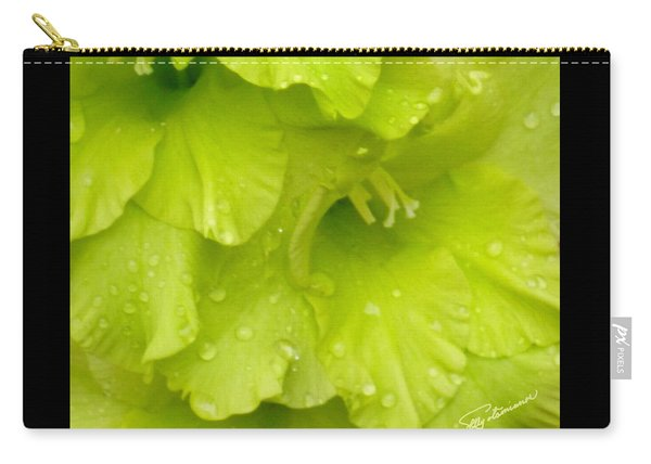 Yellow Gladiola Refreshed Carry-all Pouch