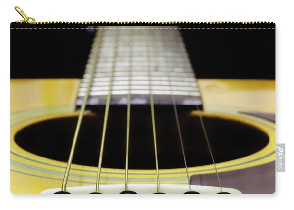 Yellow Guitar 17 Carry-all Pouch