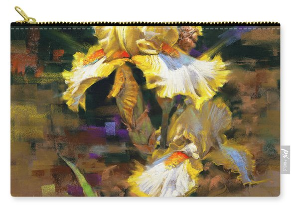 Yellow Iris II Carry-all Pouch