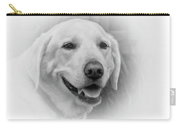 Yellow Labrador Carry-all Pouch