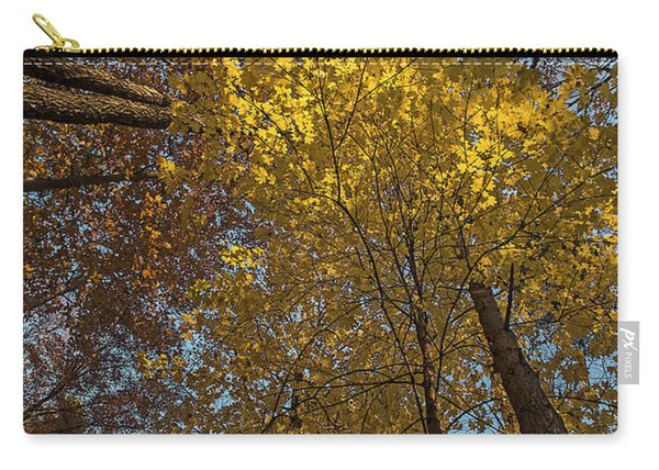 Yellow-leaves-maple-forest Carry-all Pouch