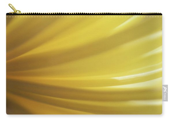 Yellow Mum Petals Carry-all Pouch