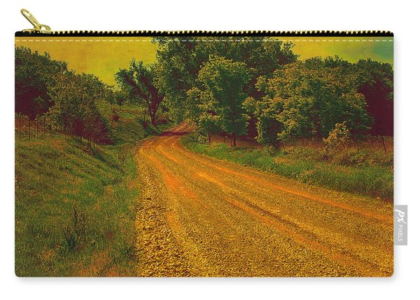 Yellow Oz Road Carry-all Pouch
