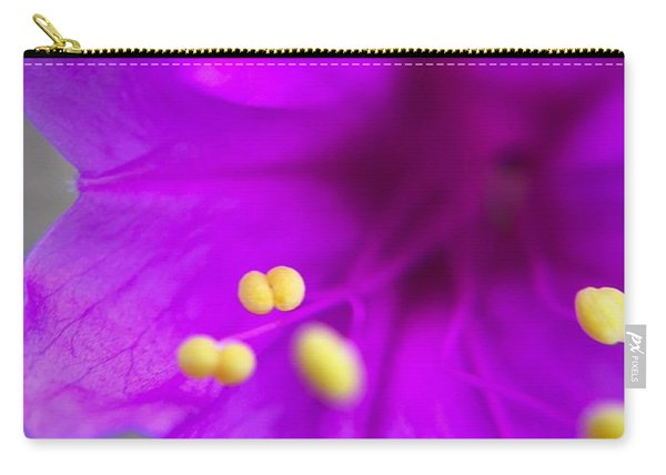 Yellow Pistil Carry-all Pouch