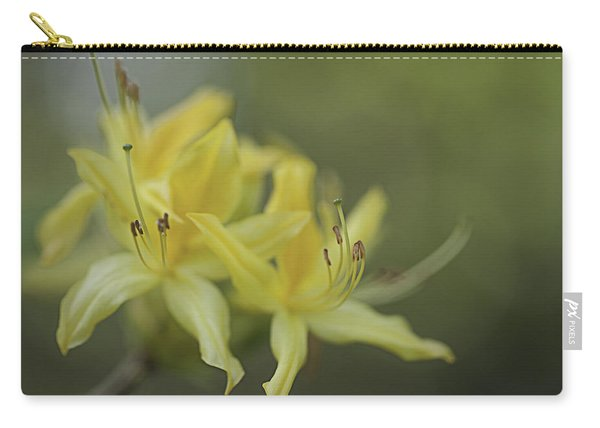 Yellow Rhodo Carry-all Pouch