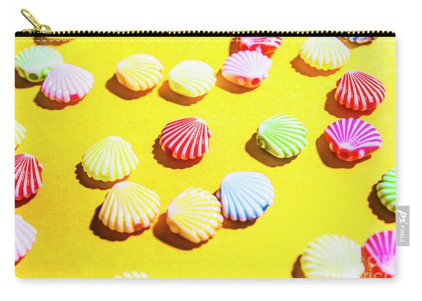 Yellow Seaside Scenes Carry-all Pouch
