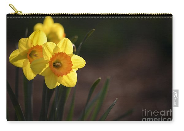 Yellow Spring Daffodils Carry-all Pouch