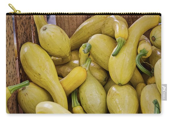 Yellow Squash Carry-all Pouch
