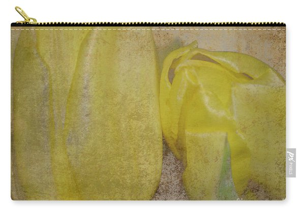 Yellow Strands Carry-all Pouch