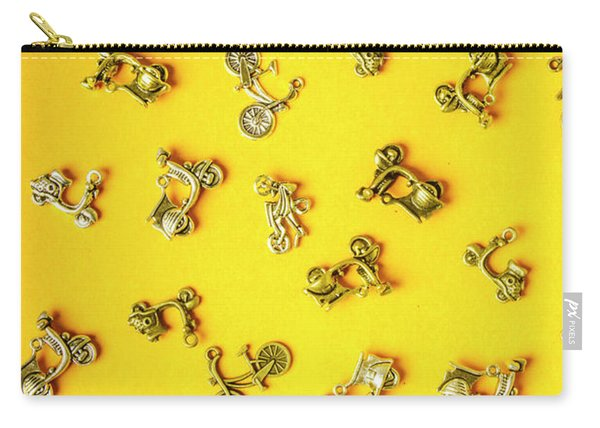 Yellow Summer Transport Carry-all Pouch
