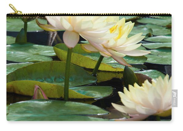 Yellow Water Lillies - Longwood Gardens Carry-all Pouch