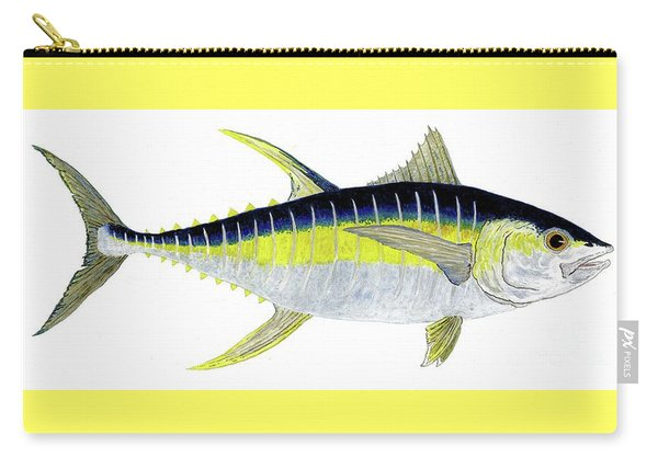 Yellowfin Tuna Carry-all Pouch